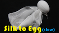 Silk to Egg - Slow (Motorized) by Himitsu Magic - Trick