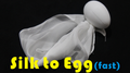 Silk to Egg - Fast (Motorized) by Himitsu Magic - Trick
