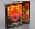 "Bicycle Natural Disasters ""Wildfire"" Playing Cards by Collectable Playing Cards"