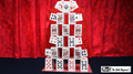 Card Castle with Six Card Repeat by Mr. Magic - Trick