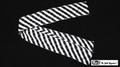 Production Streamer Zebra 6 inch  x 18 feet (Black and White) by Mr. Magic - Trick