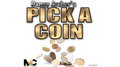 Pick a Coin Euro Version (Gimmicks and Online Instructions) by Danny Archer - Trick