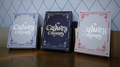 Cardistry Calligraphy (Blue) Playing Cards