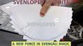 Svengali Envelopes (White) by Sven Lee - Trick