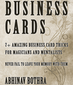 Business Cards by Abhinav Bothra Mixed Media DOWNLOAD