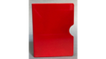 Card Guard (Red/ Plain) by Bazar de Magia