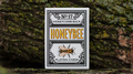 Honeybee V2 Playing Cards (Black)