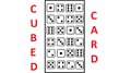 Cubed Card by Catanzarito Magic - Trick