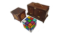 Back of Tora Cube (Handcraft Antique)