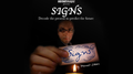 SIGNS (Gimmicks and Online Instructions) by Vernet - Trick