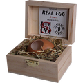 Real Egg (Brown) by Gianfranco Ermini & Stratomagic - Trick