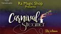 Carnival Streamer Christmas (Red, White and Green) by Ra Magic - Trick