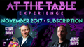 At The Table November 2017 Subscription video DOWNLOAD