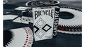 Bicycle Cardistry Black and White Playing Cards by De'vo vom Schattenreich and Handlordz