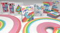 Rainbow Unicorn Fun Time! Playing Cards by Handlordz