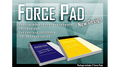 Force Pad 2 (Small/Yellow) Set of Two by Warped Magic - Trick