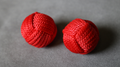 Monkey Fist Chop Cup Balls (1 Regular and 1 Magnetic) by Leo Smetsters - Trick