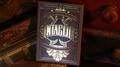 Intaglio Black Playing Cards by Jackson Robinson