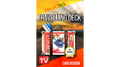 Travelling Deck Card Version Blue (Gimmick and Online Instructions) by Takel - Trick