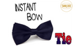 Instant Bow Tie (Blue) by Sorcier Magic - Trick