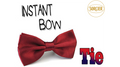 Instant Bow Tie (Red) by Sorcier Magic - Trick