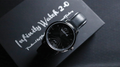 Infinity Watch V2 - Silver Case Black Dial Version (Gimmick and Online Instructions) by Bluether Magic - Trick