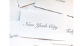 Appearing Business Cards (City Pack) by Sam Gherman - Trick