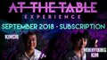 At The Table September 2018 Subscription video DOWNLOAD