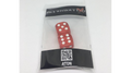 Dice Without Two CLEAR RED (2 Dice Set) - Trick