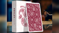 Limited Edition Paisley (Ruby Red) Playing Cards by Dutch Card House Company