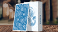 Limited Edition Paisley (French Blue) Playing Cards by Dutch Card House Company