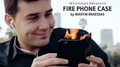 Fire Phone Case (Bigger) by Martin Braessas - Trick