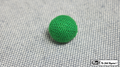 Crochet Ball .75 inch Single (Green) by Mr. Magic - Trick