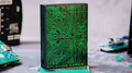 Circuit (Green) Playing Cards by Elephant Playing Cards