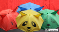 Umbrellas from Handkerchief by Mr. Magic - Trick