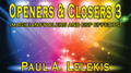 Openers & Closers 3 by Paul A. Lelekis Mixed Media DOWNLOAD