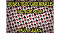 6 EZ-TO-DO CARD MIRACLES by Paul A. Lelekis eBook DOWNLOAD