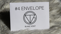 Number 4 Envelope (Gimmicks and Online Instructions) by Blake Vogt - Trick
