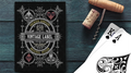 Vintage Label Playing Cards (Gold Gilded Black Edition) by Craig Maidment