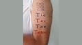 Tic Tac Toe Tattoo by Eran Blizovsky - Trick