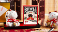 Bicycle Maneki Neko (RED) Playing Cards by Bocopo