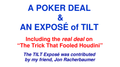 A Poker Deal & An Exposé of TILT by Paul A. Lelekis eBook DOWNLOAD