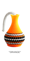 "The American Prayer Vase /Genie Bottle ""ORANGE"" by Big Guy's Magic"