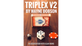TRIPLEX V2 by Waybe Dobson and Alan Wong (Gimmicks and Online Instructions) - Trick