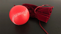 Final Load Ball Leather White (5.7 cm Red) by Leo Smetsers - Trick