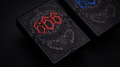 666 Red Playing Cards by Riffle Shuffle