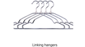 Linking Hangers by Albert Tam - Trick