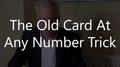 TOCAANT (The Old Card At Any Number Trick) by Brian Lewis video DOWNLOAD