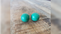 Chop Cup Balls Green Leather (Set of 2) by Leo Smetsers - Trick