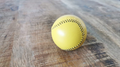Final Load Ball Leather Yellow (5.7 cm) by Leo Smetsers - Trick